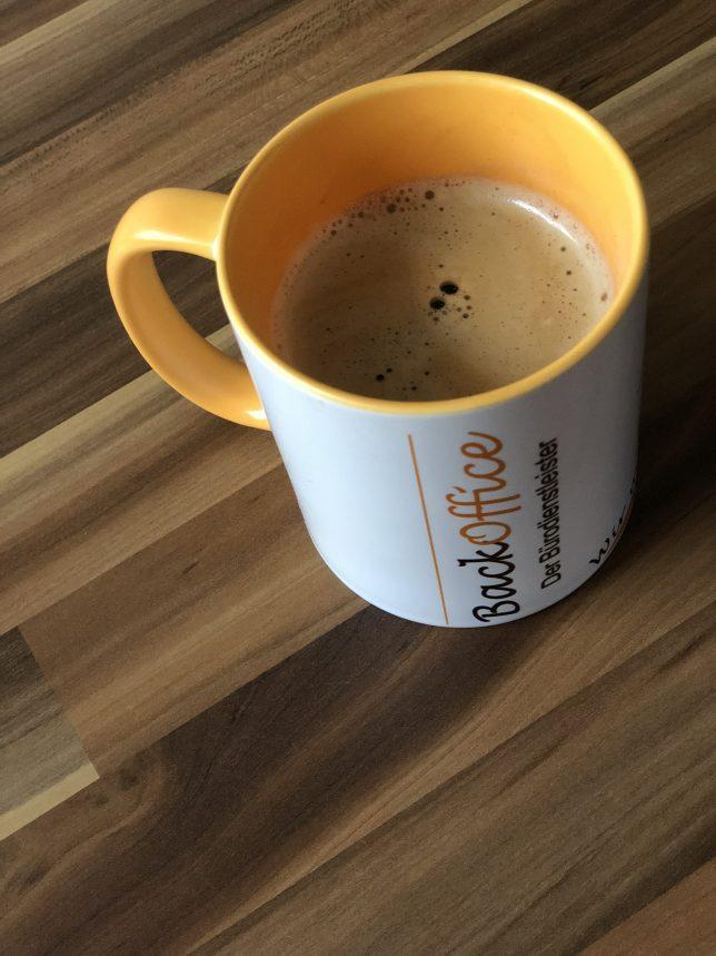 Fototasse Werbung WerbemittelFototasse mit Kaffee 2 - BackOffice Imbach - Muster 9