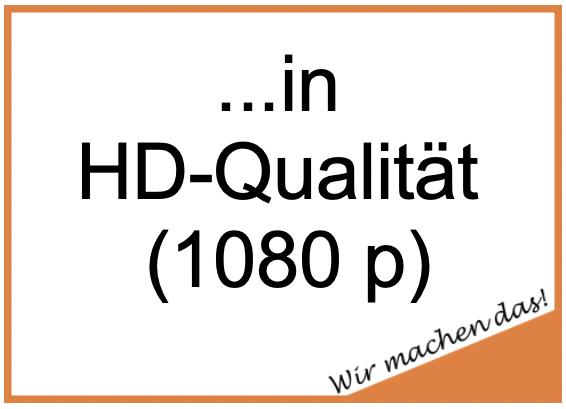 Videos - Kurzfilme - Produktvideosin HD-Qualität (1080p)